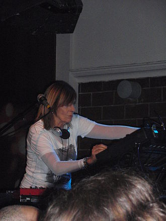 Miquette Giraudy - Giraudy playing with Gong in Tel Aviv in 2009