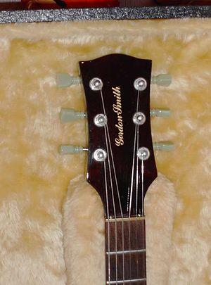Gordon-Smith Guitars - Gordon-Smith GSII Headstock