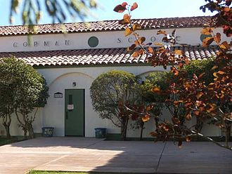 Gorman, California - Gorman Elementary School has two classrooms.