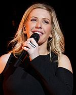 Ellie Goulding Goulding, Staples Center, Los Angeles, 8th April 2016 (43)-cropped.jpg