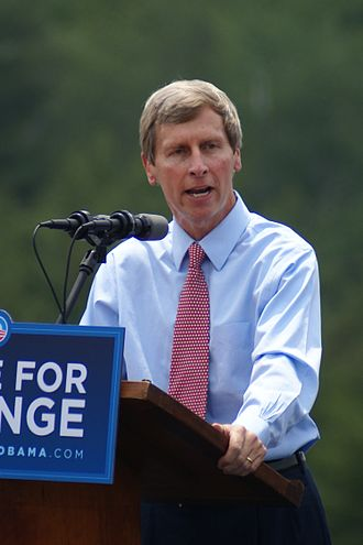 John Lynch (New Hampshire) - Lynch campaigning for Barack Obama in 2008