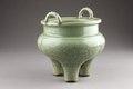 Grön rökelsebrännare från Kina, gjord 1300-1400-talet - Hallwylska museet - 95512.tif