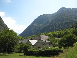 The hamlet of Gragnolet, in Entraigues