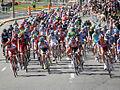 Grand Prix Cycliste de Montréal 2011, Peloton Head-on (6140757504).jpg