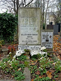 Grave of Andor Endre Gelléri (Óbuda Jewish Cemetery).jpg