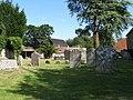 Gravestones at St Mary's Church - geograph.org.uk - 1456936.jpg