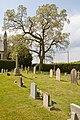 Graveyard on north side of St Paul's Church, Bisterne - geograph.org.uk - 1854136.jpg
