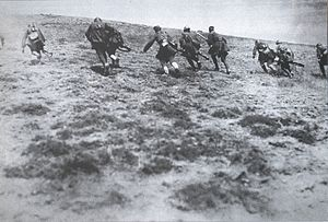 1/38 National Guard Command - Evzones of the 1/38 attack in Asia Minor, August 1921