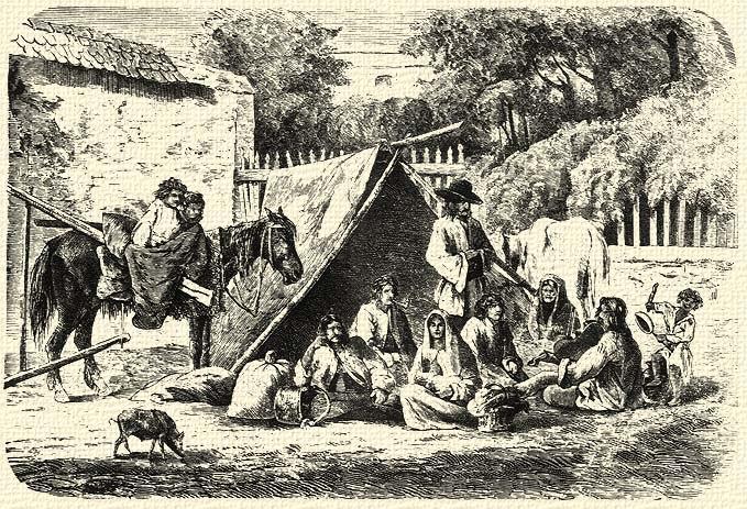 Greguss János Sátoros cigányok