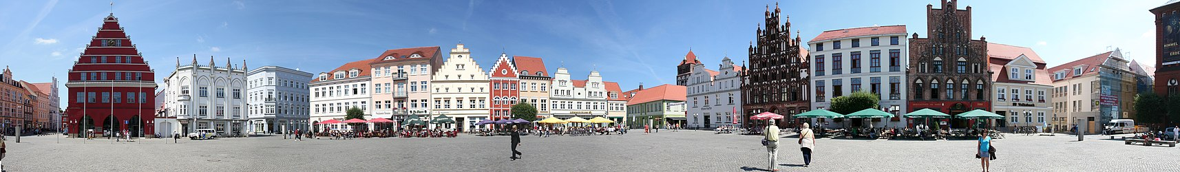 The central market square (Marktplatz)