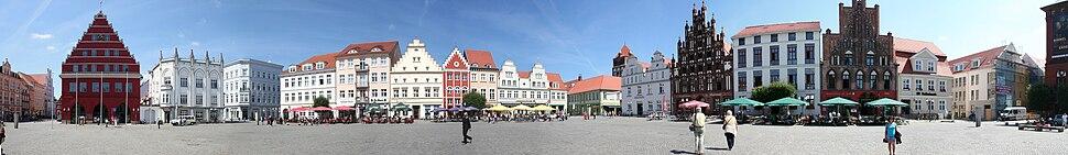 Greifswald Panorama view