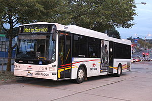 Grenda's Bus Services - A Volgren bodied Scania K230UB at Ringwood in May 2013