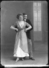 Greven av Luxemburg, Oscarsteatern 1910. Rollporträtt - SMV - GA030.tiff