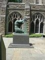 Grieving Mother by Bela Pratt, Cloister of the Colonies Garden, Washington Memorial Chapel.jpg