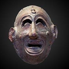 Carthaginian mask AO 3242