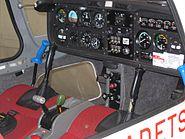 Grob Vigilant T1 cockpit SM