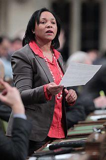 Sadia Groguhé Canadian politician