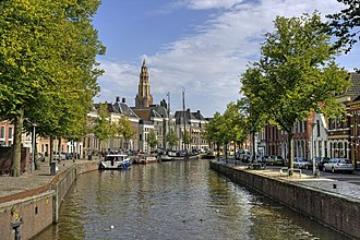 Gracht - A gracht in Groningen, in the Northern Netherlands, is locally referred to as a diep.