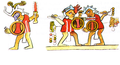 Guerreros Mixtecas con Ichcahuipilli Codice Selden 12-13.png