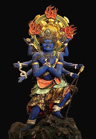 Wisdom King - The Wisdom king Kundali.