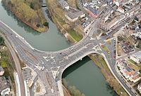 Gustav-Heinemann-Brücke Werden Luftaufnahme 2014.jpg