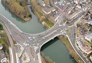 Essen-Werden - Ruhr bridge at Werden