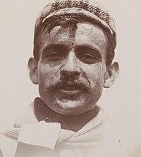 Gustave Garrigou premier champion de France de cyclisme sur route en 1907 sur Peugeot.jpg