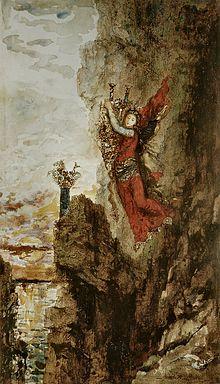 Sapho à Leucade de Gustave Moreau