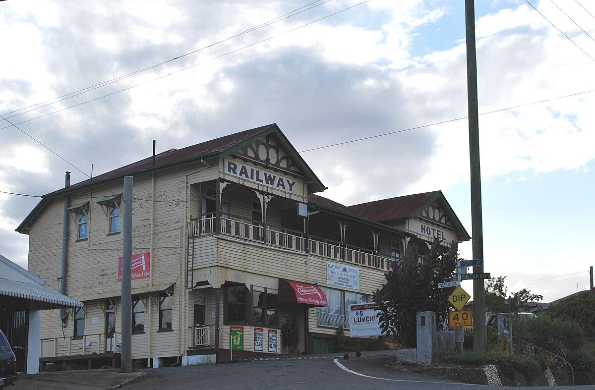 Railway Hotel, Gympie - Wikipedia
