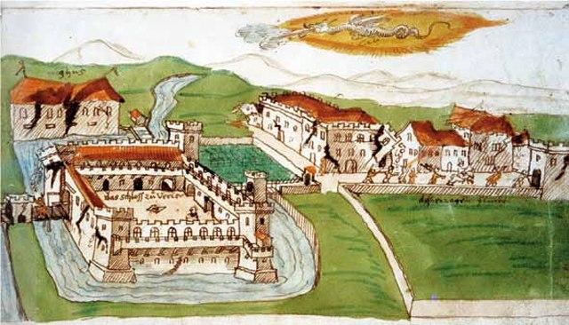 H. J. Helden, Ferrara distrutta dal terremoto del 1570