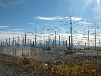 High Frequency Active Auroral Research Program - HAARP antenna array