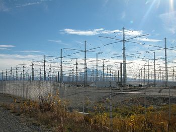 English: HAARP antenna array