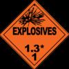 Class 1.3: Explosives