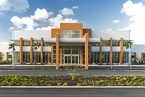 Health City Cayman Islands - Image: HCCI Main Entrance
