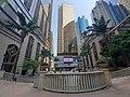 HK 上環 Sheung Wan 永樂街 Wing Lok Street 中遠大廈 Cosco Tower 新紀元廣場 Grand Millennium Plaza garden October 2019 SS2 01.jpg