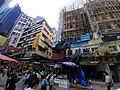 HK 中環 Central 結志街 Gage Street 嘉咸街 Graham Street 街市 Market near Gutzlaff Street November 2020 SS2 02.jpg