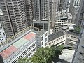 HK 69 Pokfulam Road 錦明閣 King Ming Mansion view St Louis School roof Third Street July-2011.jpg