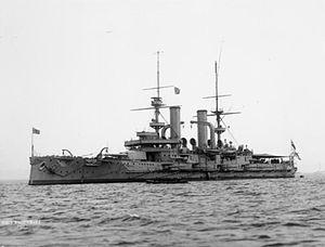 HMS Swiftsure (1903) - Image: HMS Swiftsure IWM Q40256