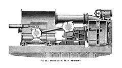 HMS Agincourt engine
