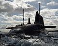 HMS Ambush Arriving at HMNB Clyde MOD 45154433.jpg