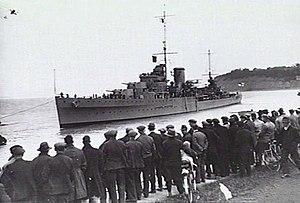HMS Neptune (20) - HMS Neptune in 1937