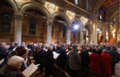 HRH Prince Andrew, Secretary of State Karen Bradley & Irish Minister Damien English joined church leaders & other invited guests for a special Service of Remembrance commemorating the end of WW1 at the Belfast Cathedral. (31974611308).png