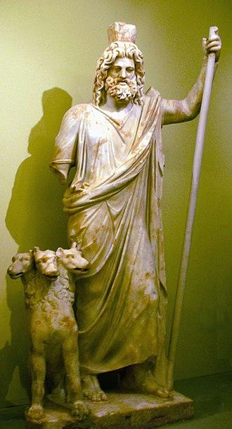 Hades - Hades/Serapis with Cerberus