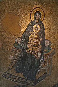 Hagia Sophia Interior Virgin 2007.JPG