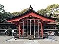 Haiden of Sumiyoshi Shrine 20161206.jpg