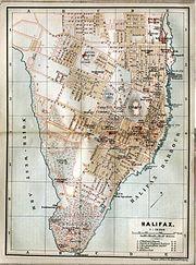 Halifax map 1894