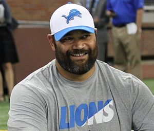 Haloti Ngata - Ngata with the Detroit Lions in 2015