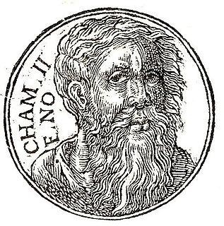 Biblical figure, son of Noah