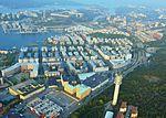 Hammarby sjöstad, flygfoto 2014-09-20.jpg