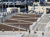 Handicapped steps near PNC Park.. one year later (3451933262).jpg